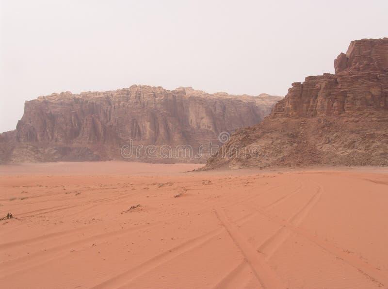 De Rum van de wadi - Maart 2007 stock foto's