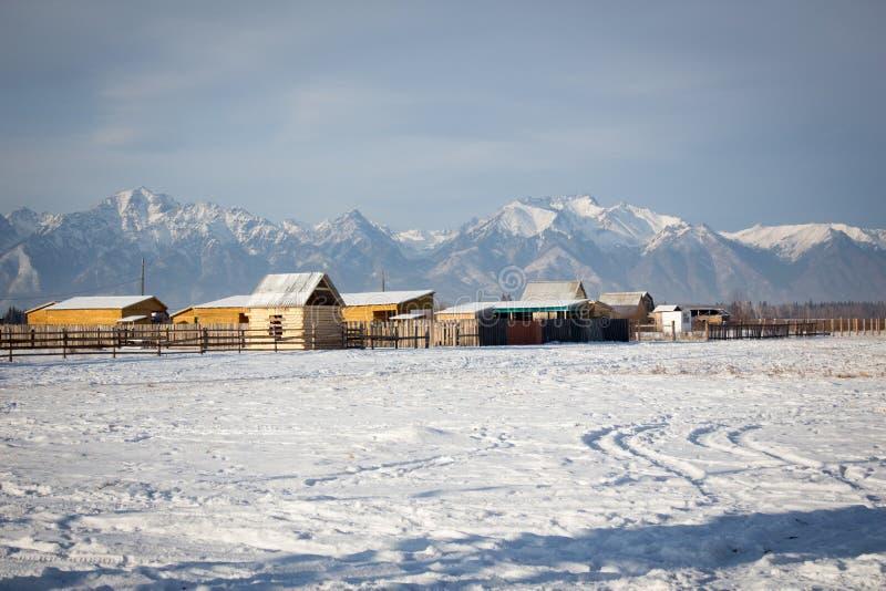 De Russische winter royalty-vrije stock afbeeldingen