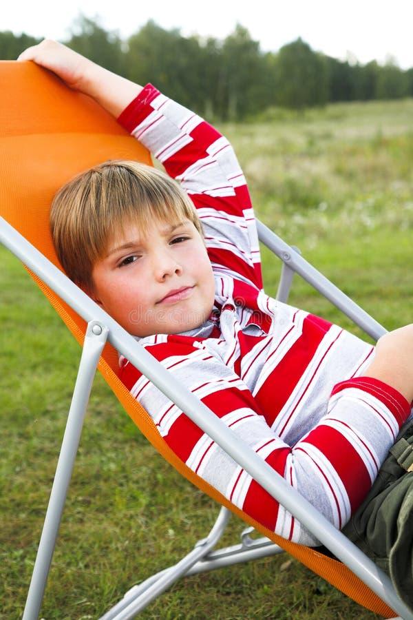 De rust van de zomer royalty-vrije stock foto