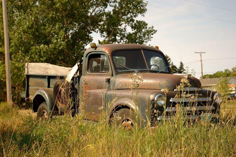De rustieke Vrachtwagen van het Landbouwbedrijf royalty-vrije stock foto