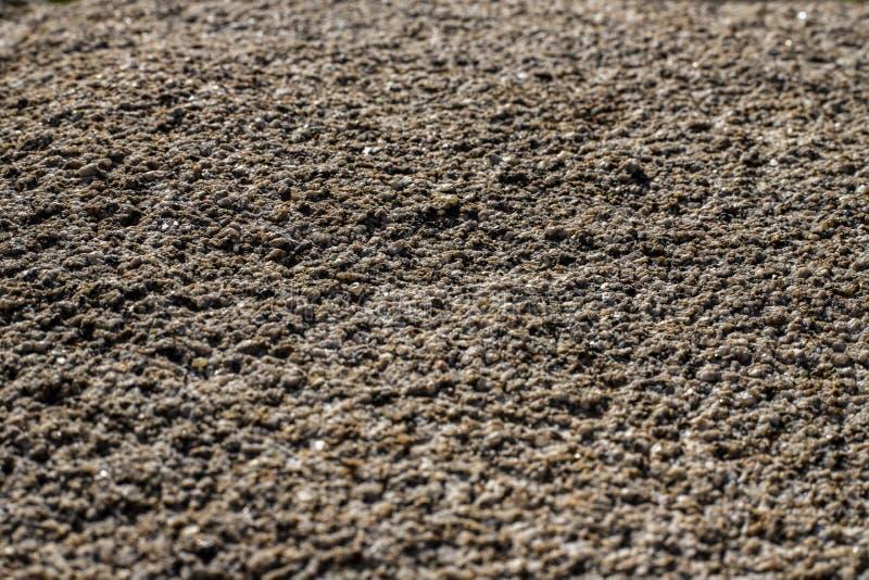 De ruwe vloer maakt van stenen royalty-vrije stock foto's