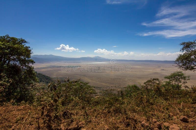 De Safari van de Ngorongorokrater stock afbeelding