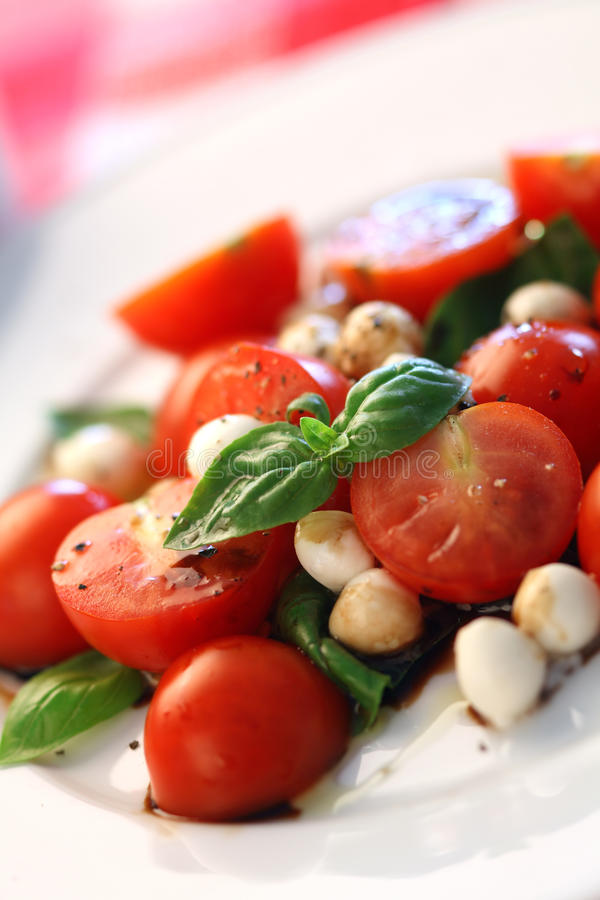 De salade van Caprese royalty-vrije stock foto's