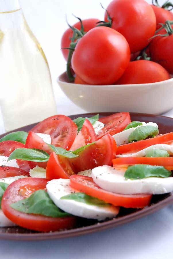 De salade van Capresse royalty-vrije stock fotografie