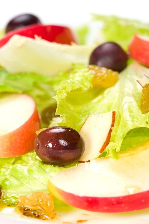 De salade van de appel royalty-vrije stock fotografie