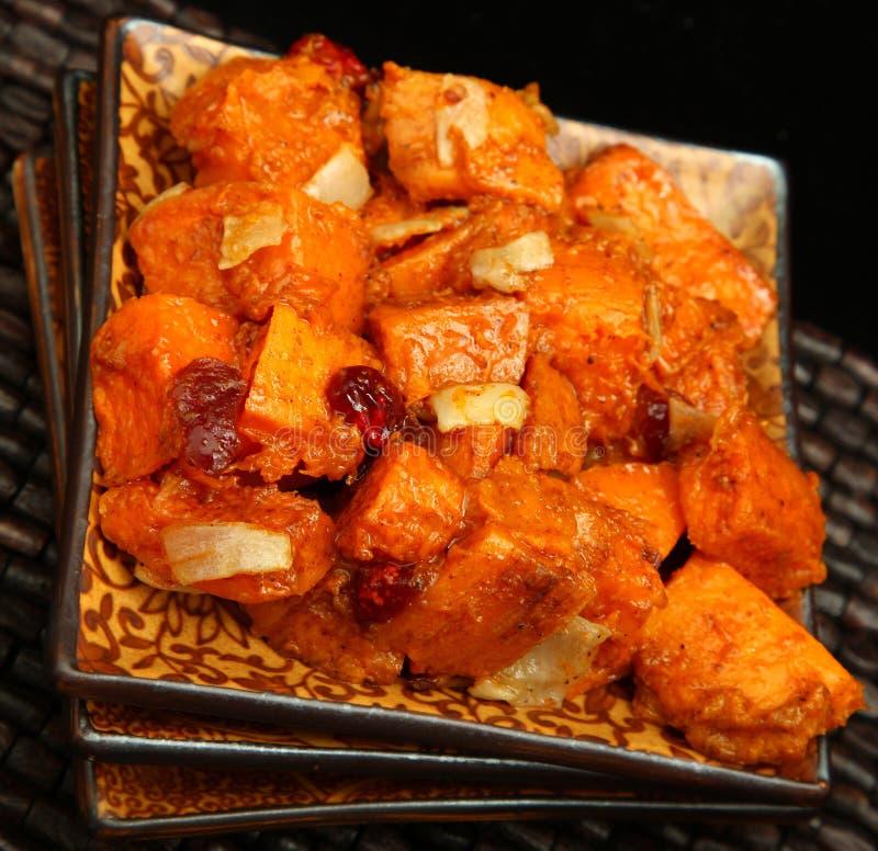 De Salade van de Bataat royalty-vrije stock fotografie