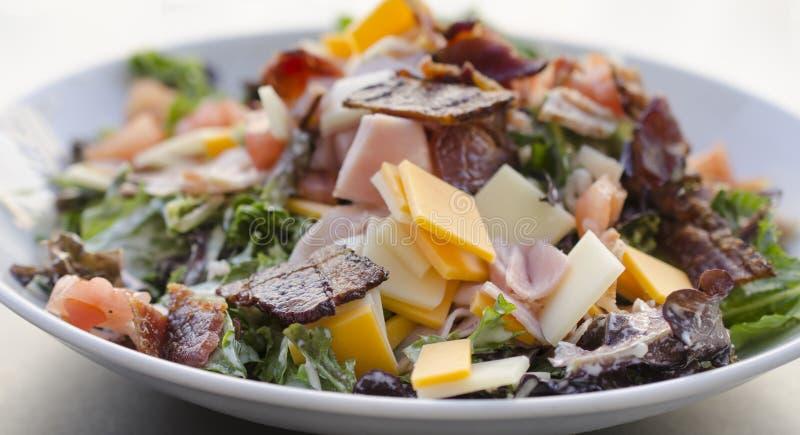 De salade van de chef-kok royalty-vrije stock foto's