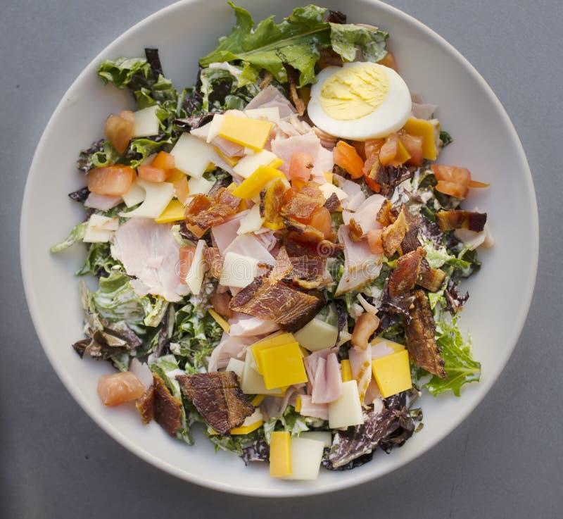 De salade van de chef-kok royalty-vrije stock afbeeldingen