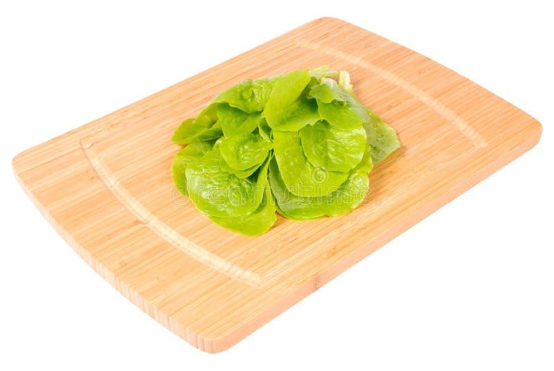 De salade van de keukenraad whith (het Knippen weg) stock afbeelding