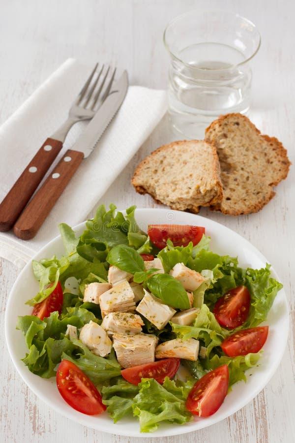 De salade van de kip stock foto