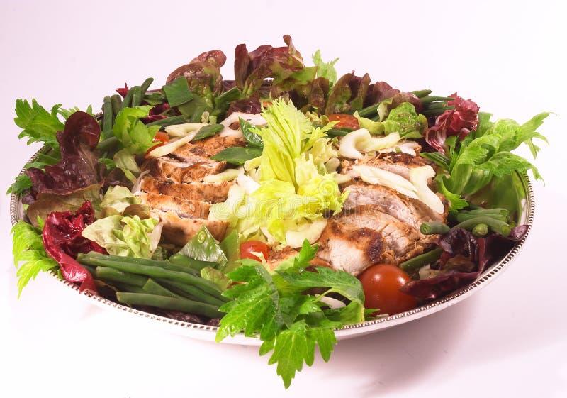 De Salade Van De Kip Royalty-vrije Stock Afbeeldingen