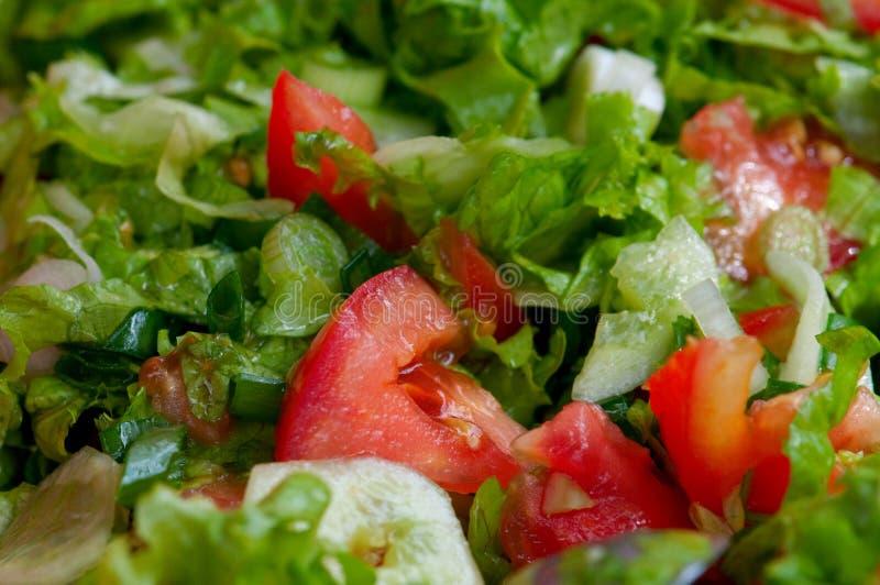 De salade van de tuin stock afbeeldingen