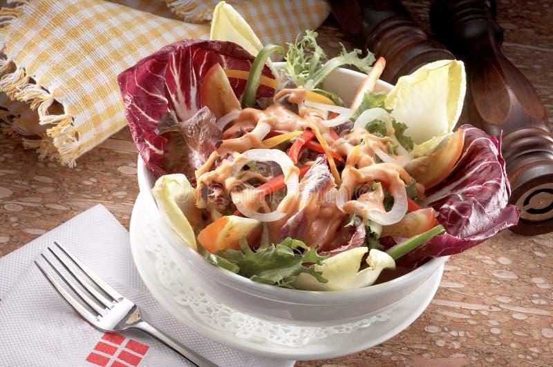 De Salade van de tuin stock fotografie