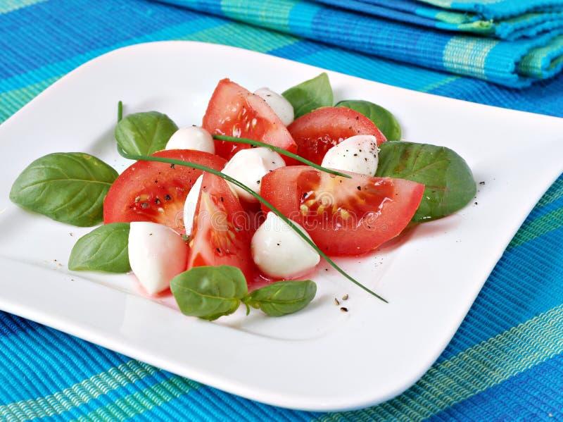 De salade van de zomer royalty-vrije stock foto's