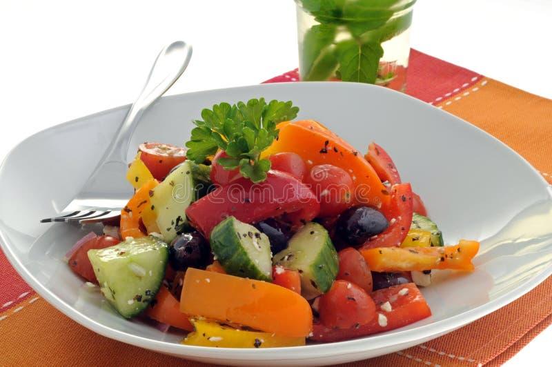 De Salade van de zomer stock foto