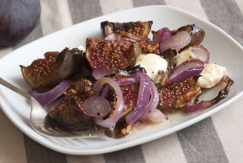 De salade van fig. stock afbeeldingen