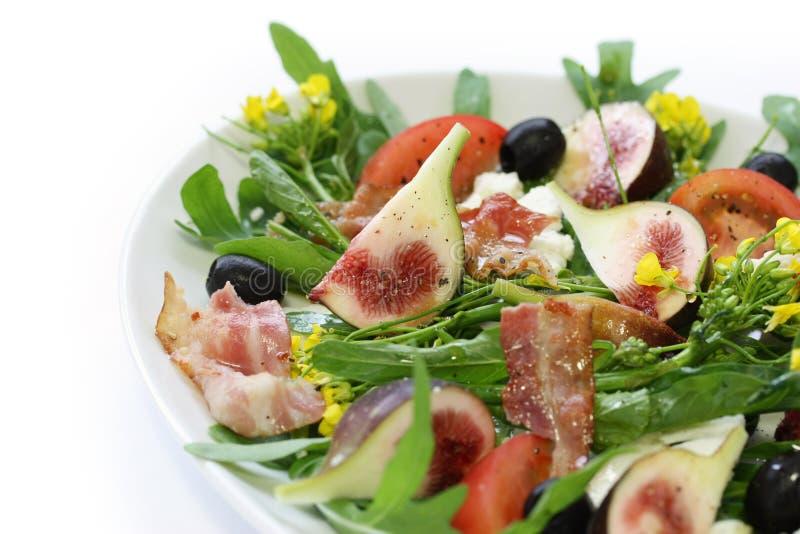 De salade van Figgy stock foto
