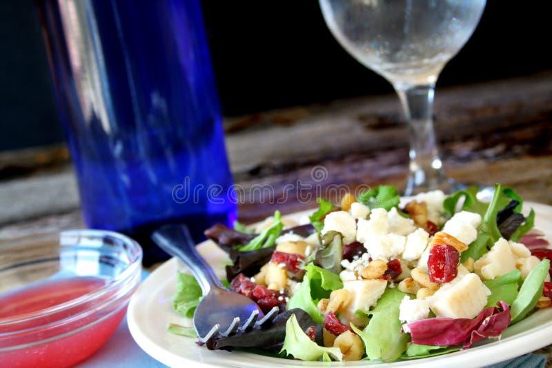 De Salade van het diner stock afbeelding