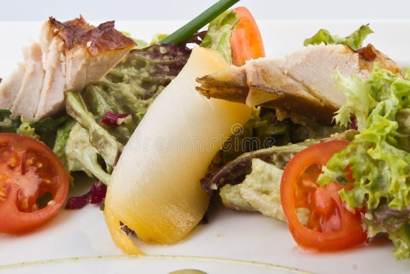 De salade van het vlees stock foto's