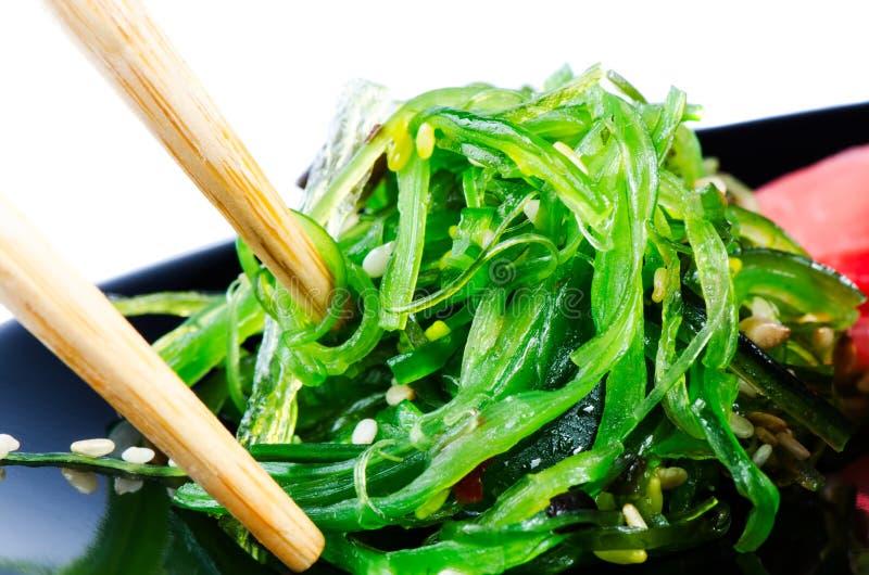 De Salade van het Zeewier van Chuka royalty-vrije stock foto