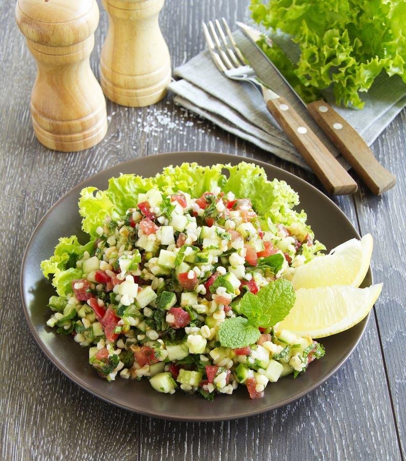 De salade van Tabbouleh royalty-vrije stock fotografie