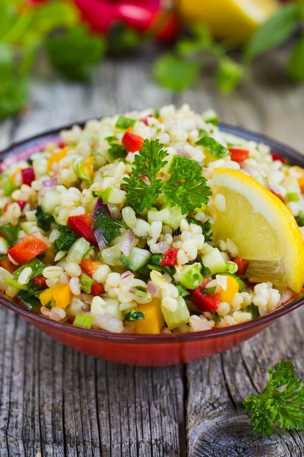 De salade van Tabbouleh stock fotografie
