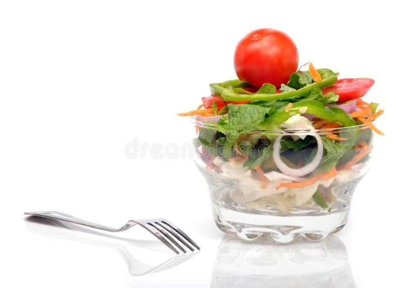 De salade van Veg stock foto