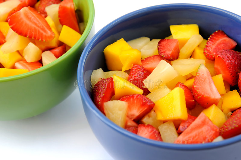 De salade van vruchten royalty-vrije stock foto