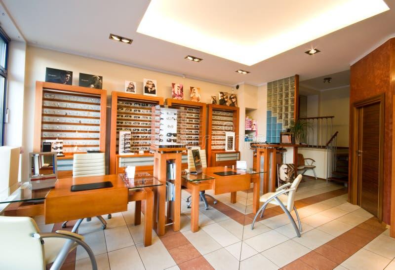 De salon van de opticien royalty-vrije stock foto's
