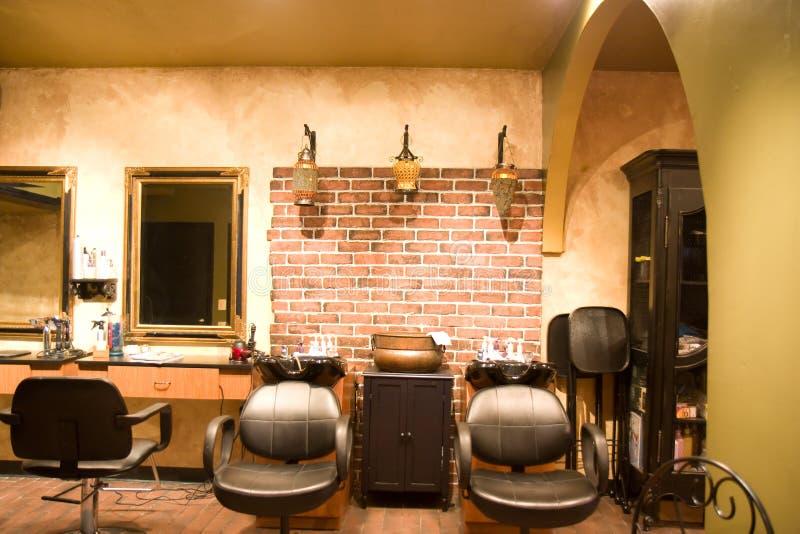 De Salon van de schoonheid stock foto's