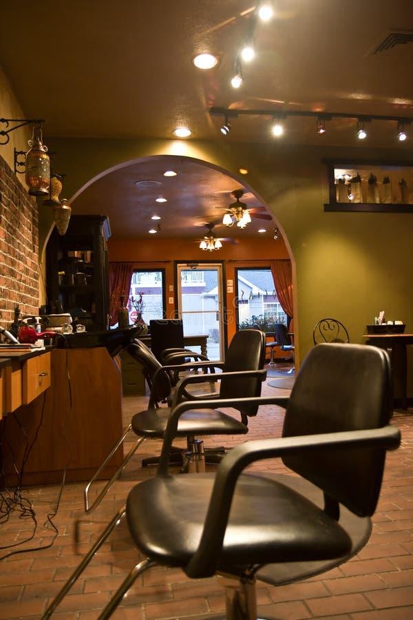 De Salon van de schoonheid stock afbeeldingen