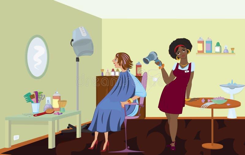 De salonberoeps van de schoonheid stock illustratie