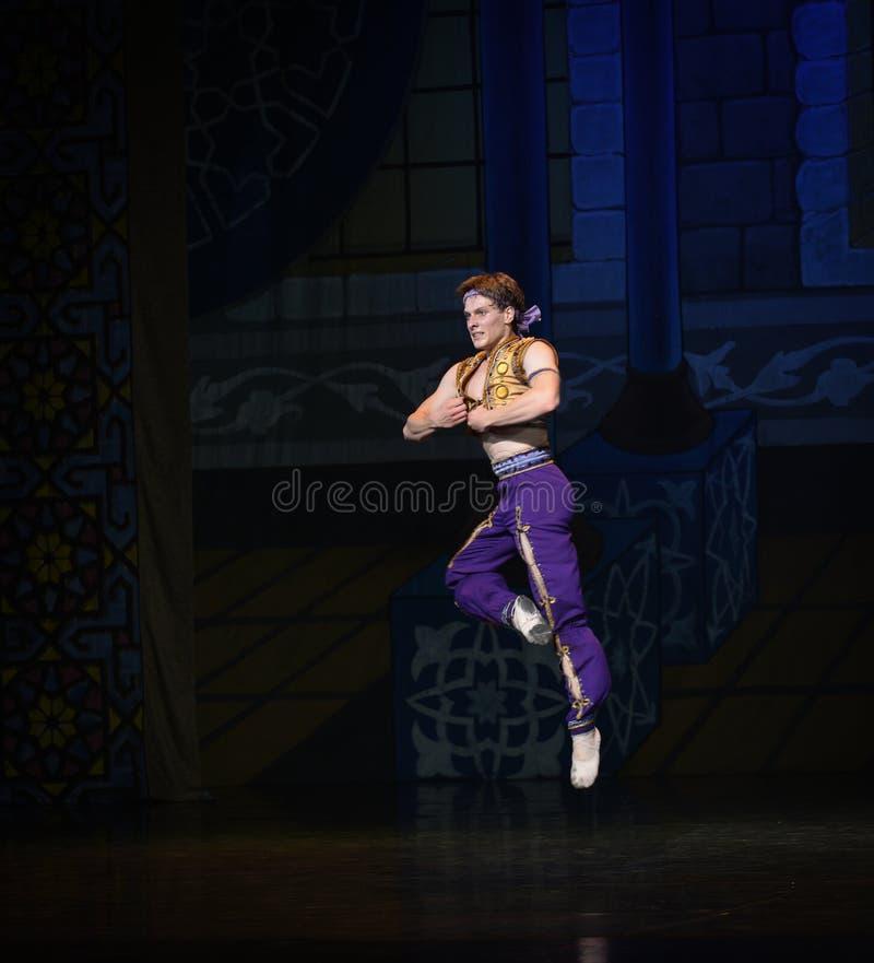 """ de salto maravilloso de Nights†del """"One mil y uno del ballet fotos de archivo"""