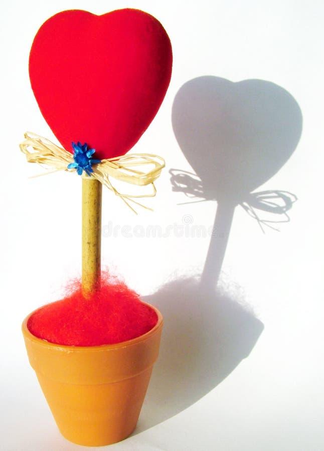 De samenstelling van de valentijnskaart royalty-vrije stock foto