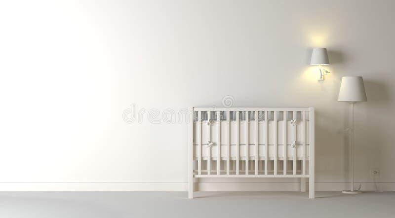De samenstelling van het kinderdagverblijf stock illustratie