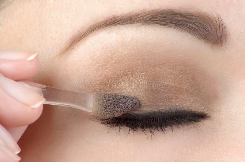 De samenstelling van het oog stock foto