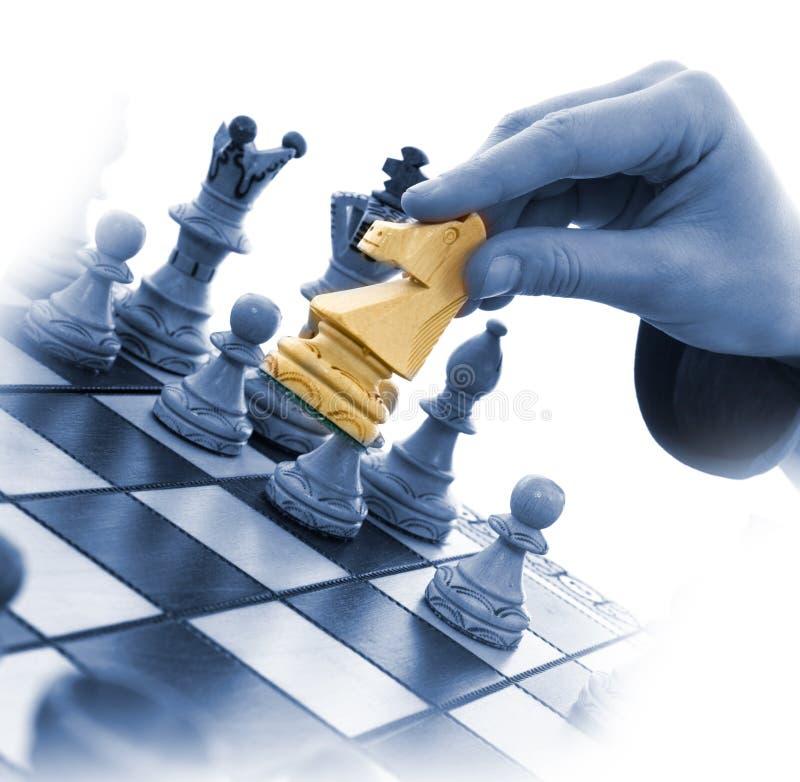 De samenstelling van het schaak royalty-vrije stock fotografie