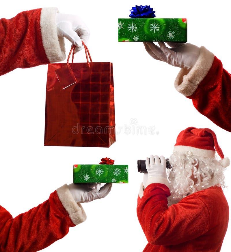 De Samenstelling van Kerstman stock afbeelding