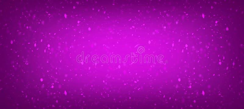 De samenvatting bracht aanin lagen roze en purper driehoekspatroon met helder centrum, van de pret eigentijds kunst ontwerp als a vector illustratie