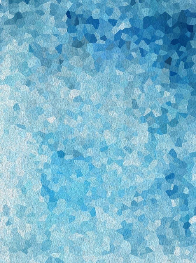 De samenvatting crystalise textuurachtergrond vector illustratie