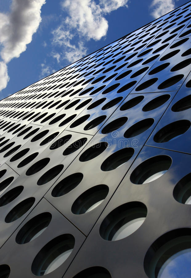 De samenvatting en de hemel van de architectuur royalty-vrije stock foto