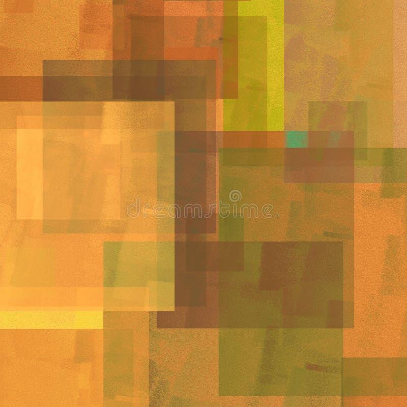 De samenvatting gaf kleurrijke achtergrond gestalte Zeer creatief het decorpunt van het affichethema Goed voor: affichekaarten, d stock illustratie