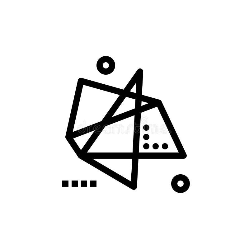 De samenvatting, de Gevolgen, de Grafiek, de Motie, de Speciale Blauwe en Rode Download en kopen nu de Kaartmalplaatje van Webwid vector illustratie