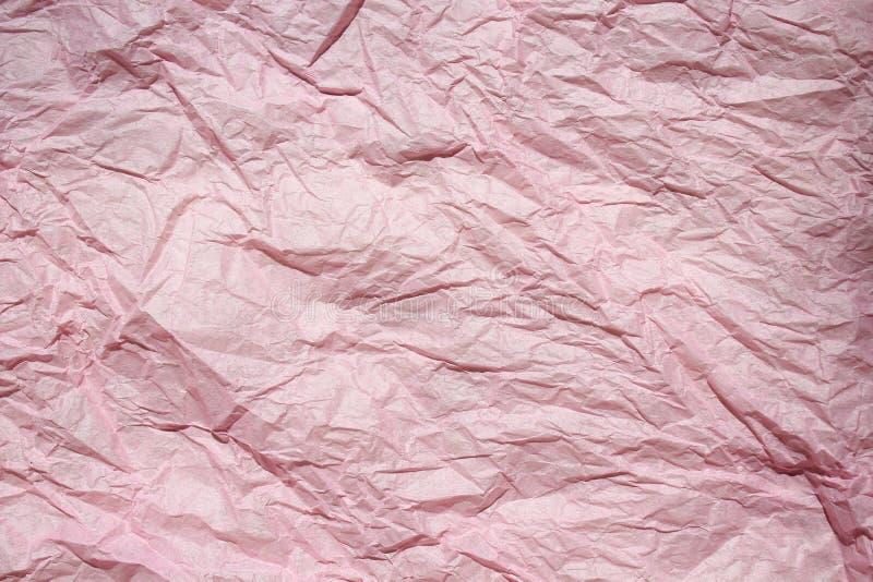 De samenvatting kleurde verfrommeld document voor achtergrond, vouw van document decoratieve texturenachtergronden voor ontwerp, stock afbeelding