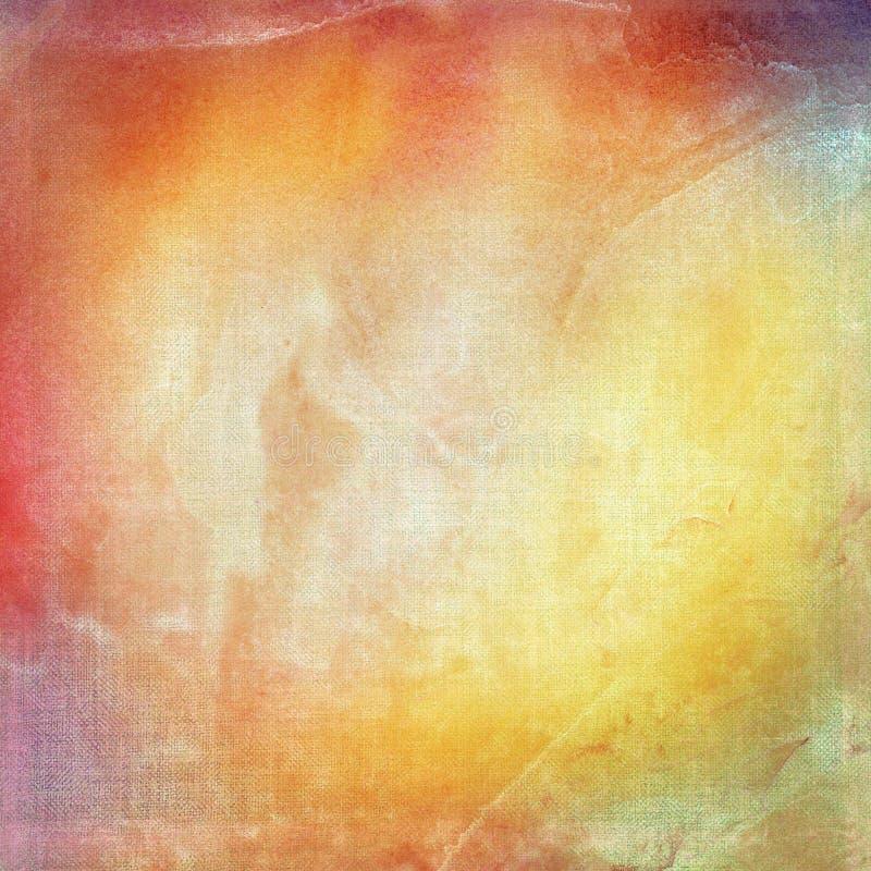 De samenvatting schilderde kleurrijke waterverfachtergrond vector illustratie
