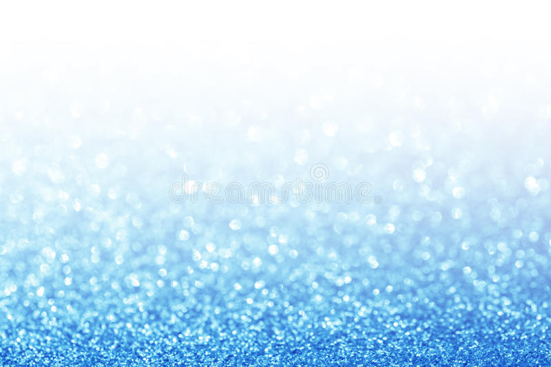De samenvatting schittert blauwe achtergrond royalty-vrije stock afbeelding