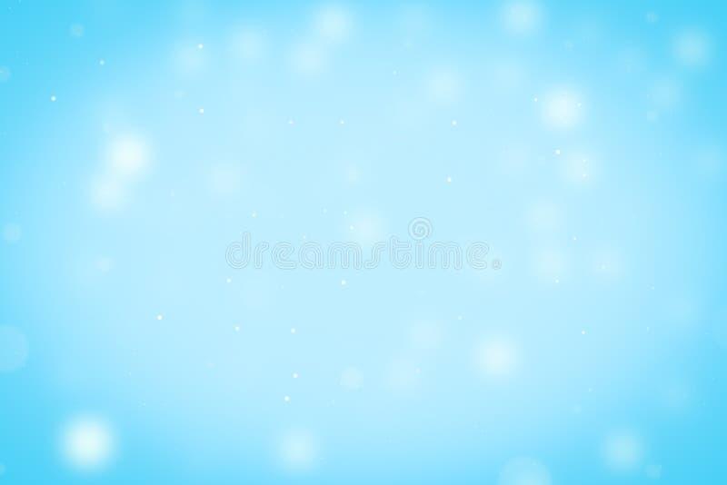 De samenvatting schittert bokeh op zwarte achtergrond vector illustratie