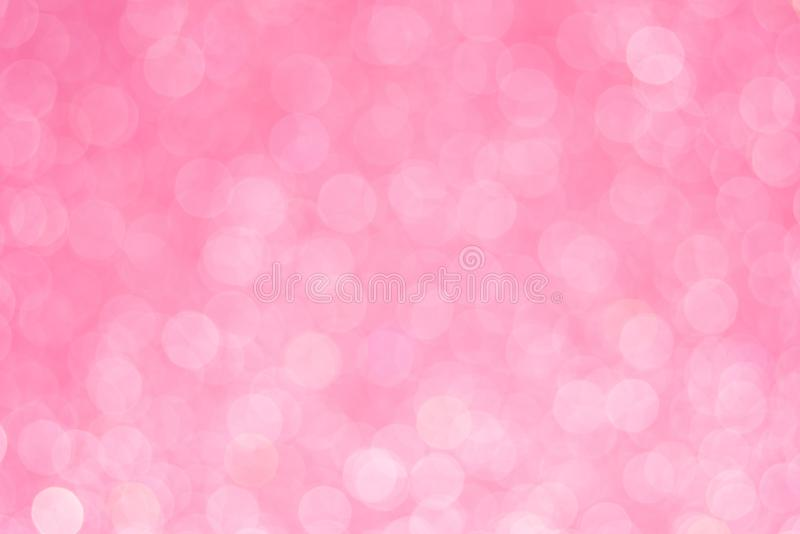 De samenvatting schittert roze achtergrond voor kaart en uitnodiging royalty-vrije stock foto's