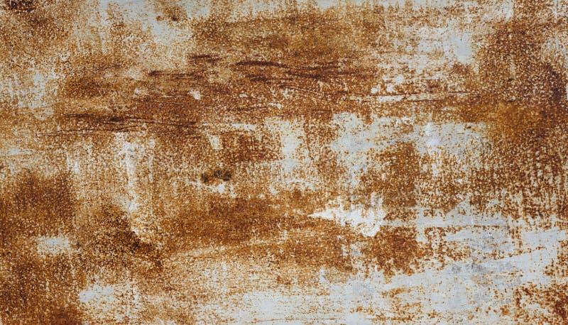 De samenvatting tastte kleurrijke roestige metaalachtergrond aan stock afbeelding