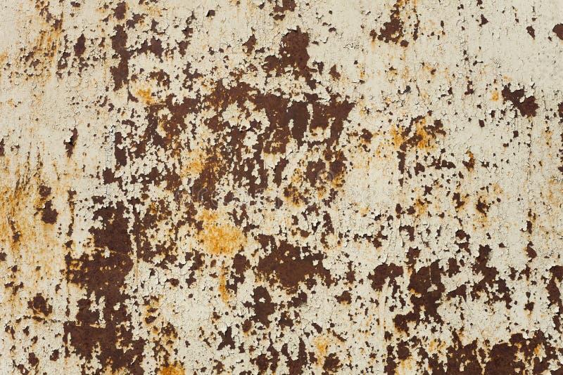 De samenvatting tastte kleurrijke roestige metaalachtergrond aan royalty-vrije stock afbeelding